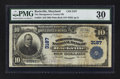 National Bank Notes:Maryland, Rockville, MD - $10 1902 Plain Back Fr. 624 The Montgomery CountyNB Ch. # 3187. ...