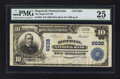 National Bank Notes:Pennsylvania, Hopewell, PA - $10 1902 Plain Back Fr. 626 The Hopewell NB Ch. #9638. ...