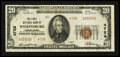National Bank Notes:Pennsylvania, Wilkinsburg, PA - $20 1929 Ty. 2 The First NB Ch. # 4728. ...