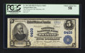 National Bank Notes:Wisconsin, Shawano, WI - $5 1902 Plain Back Fr. 606 The Wisconsin NB Ch. # 6403. ...