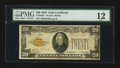 Small Size:Gold Certificates, Fr. 2402* $20 1928 Gold Certificate. PMG Fine 12.. ...