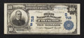 National Bank Notes:Kentucky, Covington, KY - $10 1902 Plain Back Fr. 624 The First NB Ch. #(S)718. ...