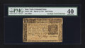 Colonial Notes:New York, New York March 5, 1776 $1/2 PMG Extremely Fine 40.. ...