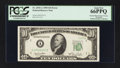 Error Notes:Obstruction Errors, Fr. 2010-A $10 1950 Federal Reserve Note. PCGS Gem New 66PPQ.. ...
