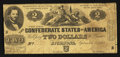 Confederate Notes:1861 Issues, T38 $2 1862 PF-1 Cr. 286.. ...