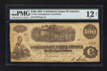 Confederate Notes:1862 Issues, CT40 $100 1862.. ...