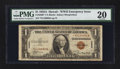 Small Size:World War II Emergency Notes, Fr. 2300* $1 1935A Hawaii Silver Certificate. PMG Very Fine 20.. ...