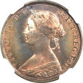 Great Britain, Great Britain: Victoria Proof Halfpenny 1861,...