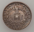 Chile, Chile: Condor 2R 1843-1852 Date Set, ... (Total: 10 coins)
