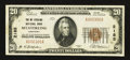 National Bank Notes:Kentucky, Mount Sterling, KY - $20 1929 Ty. 1 The Mt. Sterling NB Ch. # 2185....