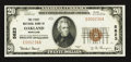 National Bank Notes:Maryland, Oakland, MD - $20 1929 Ty. 1 The First NB Ch. # 5623. ...