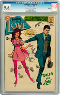 Silver Age (1956-1969):Romance, Falling in Love #102 Savannah pedigree (DC, 1968) CGC NM+ 9.6 Creamto off-white pages....