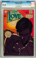 Silver Age (1956-1969):Romance, Falling in Love #103 Savannah pedigree (DC, 1968) CGC VF/NM 9.0 Off-white to white pages....