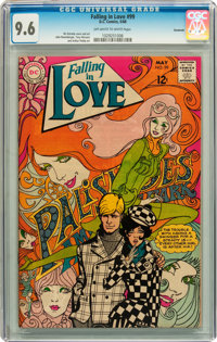 Falling in Love #99 Savannah pedigree (DC, 1968) CGC NM+ 9.6 Off-white to white pages