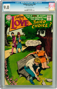 Falling in Love #100 Savannah pedigree (DC, 1968) CGC VF/NM 9.0 Cream to off-white pages