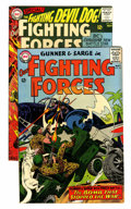Bronze Age (1970-1979):War, Our Fighting Forces #92 and 96 Savannah pedigree Group (DC, 1965) Condition: Average VF.... (Total: 2 Comic Books)