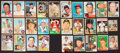 Baseball Cards:Autographs, . Baseball Greats Signed Vintage Cards Lot of 28....