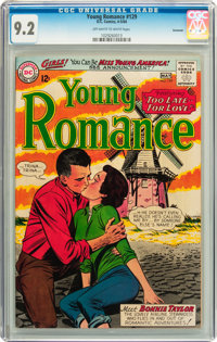 Young Romance #129 Savannah pedigree (DC, 1964) CGC NM- 9.2 Off-white to white pages