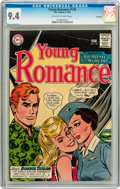 Silver Age (1956-1969):Romance, Young Romance #130 Savannah pedigree (DC, 1964) CGC NM 9.4Off-white to white pages....