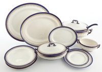 Whoopi Goldberg Collection  FORTY-SIX PIECE ROYAL DOULTON PARTIAL SERVICE IN THE BELMONT <