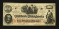 Confederate Notes:1862 Issues, T41 $100 1862 PF-59 Cr. 326A.. ...