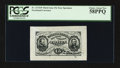Fractional Currency:Third Issue, Fr. 1272SP 15¢ Third Issue Wide Margin PCGS Choice About New 58PPQ.. ...