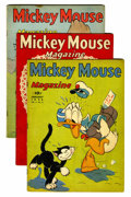 Golden Age (1938-1955):Cartoon Character, Mickey Mouse Magazine Volume #4 Group (K. K. Publications/ WesternPublishing Co., 1939).... (Total: 3 Comic Books)
