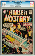 Silver Age (1956-1969):Science Fiction, House of Mystery #64 (DC, 1957) CGC VF 8.0 Cream to off-whitepages....
