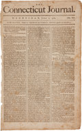 Miscellaneous:Newspaper, Newspaper: Connecticut Journal. ...