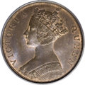 Hong Kong: , Hong Kong: Victoria Cent 1865, KM4.1, MS65 Brown PCGS, a choice example with satiny surfaces and considerable mint luster....