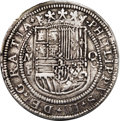 Mexico: , Mexico: Philipp III Royal 8 Reales Mo-F ND (1598-1621), Lazaro-33var, 43 mm, 27.47 gm, XF. A spectacular example of the earlyprese...