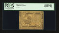 Colonial Notes:Continental Congress Issues, Continental Currency May 10, 1775 $6 PCGS Extremely Fine 40PPQ.....