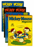 Golden Age (1938-1955):Cartoon Character, Mickey Mouse Magazine Volume #5 Group (K. K. Publications/ Western Publishing Co., 1940) Condition: Average VG.... (Total: 4 Comic Books)
