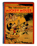 Platinum Age (1897-1937):Miscellaneous, Adventures of Mickey Mouse Book 1 Softcover Edition (David McKayPublications, 1931) Condition: FN....