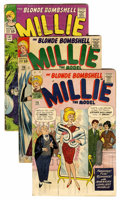 Golden Age (1938-1955):Romance, Millie the Model Group (Atlas/Marvel, 1963-71) Condition: AverageFN-.... (Total: 25 Comic Books)