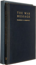 Books:First Editions, [Claude R. Wickard]. Franklin D. Roosevelt. The War Message.Being the addresses of the President to the nation an...