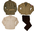 "Movie/TV Memorabilia:Costumes, A Costume from ""The Longest Day.""... (Total: 4 Items)"