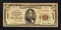 National Bank Notes:Tennessee, Lexington, TN - $5 1929 Ty. 1 The First NB Ch. # 12324. ...