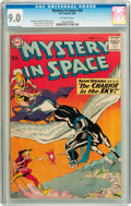 Silver Age (1956-1969):Science Fiction, Mystery in Space #58 (DC, 1960) CGC VF/NM 9.0 Off-white pages....