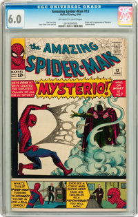 The Amazing Spider-Man #13 (Marvel, 1964) CGC FN 6.0 Off-white to white pages