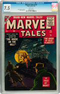 Silver Age (1956-1969):Horror, Marvel Tales #143 (Atlas, 1956) CGC VF- 7.5 White pages....
