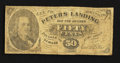 Obsoletes By State:Arkansas, Peters Landing, AR- Geo. B. Peters 50¢ circa 1870's Rothert 550-2. ...