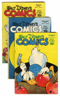 Golden Age (1938-1955):Cartoon Character, Walt Disney's Comics and Stories #61-70 Group (Dell, 1945-46)Condition: Average VG except as noted.... (Total: 10 Comic Books)