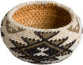 American Indian Art:Baskets, A PAIUTE BEADED BASKET...