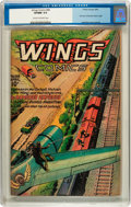 Golden Age (1938-1955):Adventure, Wings Comics #68 (Fiction House, 1946) CGC VF/NM 9.0 Cream to off-white pages....