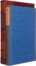 Books:First Editions, Wallace Stevens. Harmonium. New York: Alfred A. Knopf, 1923.First edition, third binding state, one of 715 copi...