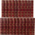 Books:Signed Editions, Bret Harte. The Writings of Bret Harte. Boston and New York:Houghton, Mifflin, [1896]-1914. Autograph edition. One ... (Total:21 Items)