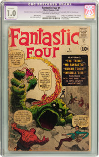 Fantastic Four #1 (Marvel, 1961) CGC Apparent FR 1.0 Slight (A) Off-white to white pages