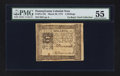 Colonial Notes:Pennsylvania, Pennsylvania March 20, 1773 4s PMG About Uncirculated 55.. ...