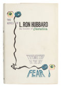 Books:First Editions, L. Ron Hubbard. Typewriter in the Sky. Fear. TwoNovels by L. Ron Hubbard. New York: Gnome Press...